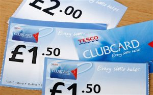 Tesco clubcard is one of the earliest customer data schemes