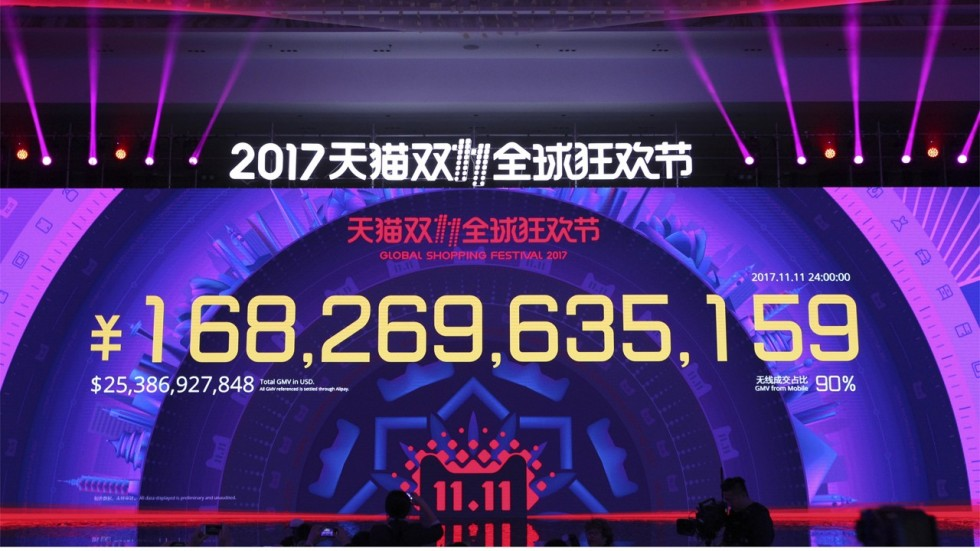 Singles Day in China is a massive retail event