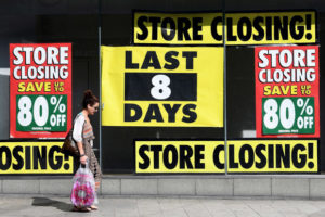 Stores closing - retail